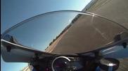 2011 Suzuki Gsx-r600 onboard at Almeria