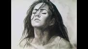 Много Бързо Рисуване на Меган Фокс - Страхотно !