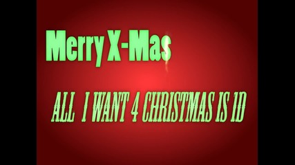 ~all I want for Christmas is One Direction