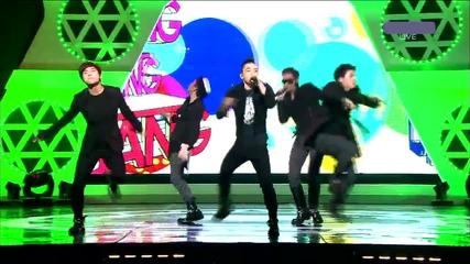 Big Bang - Stupid Liar [live at Music Core 30.04.2011][goodbye stage][високо качество]