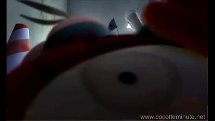 Супер Анимация Луди Кокошки - Cocotte Minute (ВИСОКО КАЧЕСТВО)