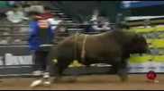 J.b. Mauney gets stepped on by Silver Wings