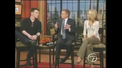Jonathan Rhys Meyers @ Regis and Relly