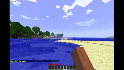 Minecraft - пътуване из природата 1/2