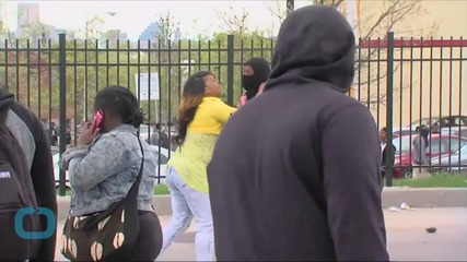 Baltimore Mom Slaps Son at Public Protest Pulls Him From Crowd