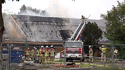 Germany: Over 100 firefighters battle Berlin church blaze