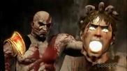 God Of War 3 - Cratos vs Helios