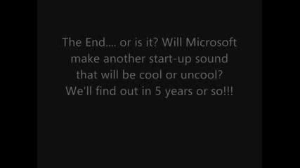 Microsoft Windows Start - Up Sounds