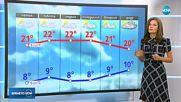 Прогноза за времето (13.10.2018 - обедна емисия)