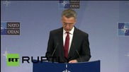 "Belgium: NATO to address ""strategic implications of a more assertive Russia"" - Stoltenberg"