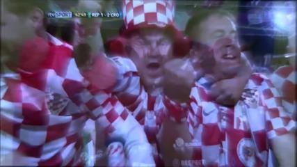 Головете от мача Реп. Ирландия 1:3 Хърватия