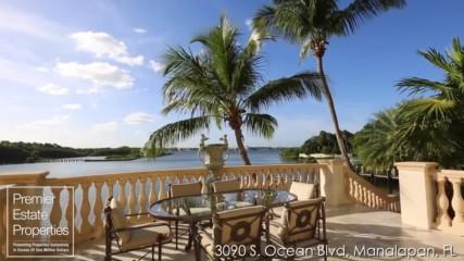 Ocean-to-intracoastal estate - 3090 South Ocean Boulevard Manalapan Florida