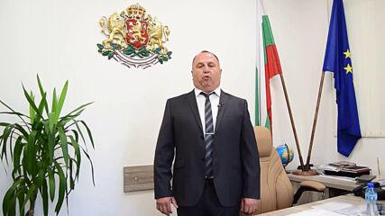 Поздрав от кмета на община Павел баня за 15 септември