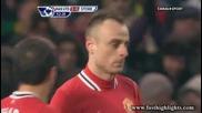 Гол на Бербатов! - Манчестър Юнайтед 2 - 0 Стоук Сити