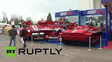 Международно изложение за охрана и безопасност започна в Москва