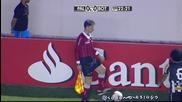 Bandeirinha toma bolada - Palmeiras 2 x 0 Botafogo (hd) Copa Sul Americana 2012 - uget - uget