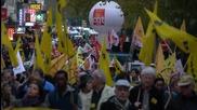 France: Thousands defy Paris demo ban to protest unemployment rates