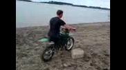 Дрифт на бай Михал на Дунава
