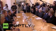 Russia: Lavrov meets with 'The Elders' group of world leaders in Moscow