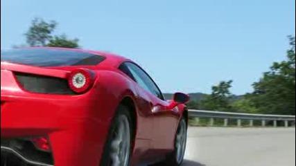 2010 Ferrari 458 Italia @ 2009 Frankfurt Auto Show - Car and Driver