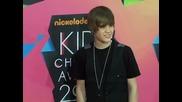 Justin Bieber на Kids Choice Awards