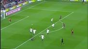 Меси измъкна Барса в последния възможен момент за 3:2 над Севиля