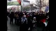 Протести в Европа и Близкия изток