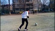 Goalkeeper reflexes level 9000 :D