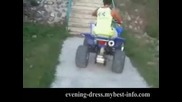 Обръщане по стълби с Atv