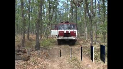 Остава бедственото положение в община Средец заради бушуващия пожар
