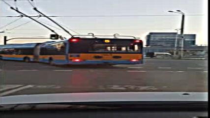 """""""Моята новина"""": Нарушение от тролейбус"""