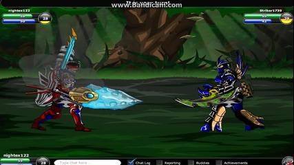 Epic duel fail 1v1 part 1 : )