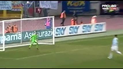 Лацио 0 - 1 Левски. Прекрасен гол на Йовов 17.12.2009 [високо Качество]