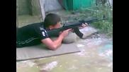 Стрелба с Ak - 47