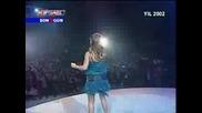Hande Yener - Kral Tv Muzik Odulleri 2002 - Sen Yoluna Ben Yoluma 2