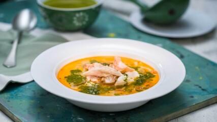 Рибена чорба със зелен сос | Бон Апети | 24Kitchen Bulgaria