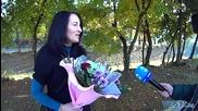 Цветя носят късмет на световната ни шампионка по шах