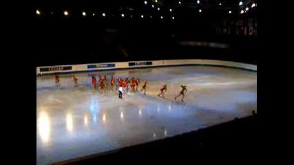 Световно Първенство фигурно пързаляне за юноши 23.02 - 01.03 2009 г. - Гала: Една българска роза