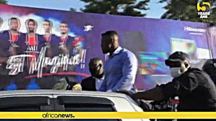 Нгану посрещнат като герой в Камерун