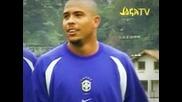 Ronaldinho Показва Финтове