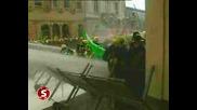 Полиция срещу пожарна на протест