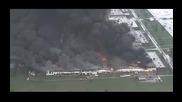 """Огромен пожар погълна завод на """"Дженерал Електрик"""""""