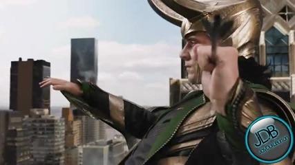 The Avengers - Hulk vs Loki Scene - Hd