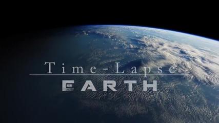 Интервальная съемка Земли с Мкс. (hd)