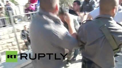 Сблъсъци между протестиращи и полиция в Изреал