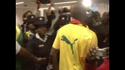 Пристигането на Камерун в Южна Африка