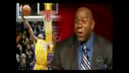 Kobe behind the back and reverse dunk
