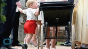 Prince George Wears Outfit Nearly Identical to Younger Prince William's at Princess Charlotte's Christening