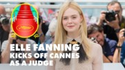 Elle Fanning brings 'teen spirit' to Cannes Film Festival jury