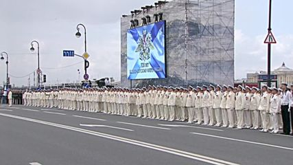 Russia: Putin honours Russia's navy, promising more support for servicemen's families